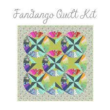 Fandango Quilt Kit by Tula Pink Free Spirit PREORDER DUE SEPTEMBER ... & Fandango Quilt Kit by Tula Pink Free Spirit PREORDER DUE SEPTEMBER Adamdwight.com