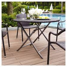 Palm Harbor 5 Piece Outdoor Dining Set W Stackable ChairsPalm Harbor Outdoor Furniture