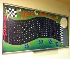 The Race To The Winners Circle A Sales Motivation Board Murals