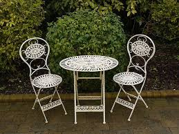 white cast iron patio furniture. Lovable Iron Cafe Table And Chairs 25 Best Ideas About Cream Intended For Contemporary Residence White Wrought Prepare Cast Patio Furniture