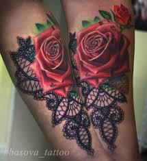 розы кружево тату на предплечье у девушки добавлено анастасия басова