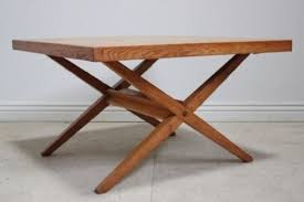 antique oak dining coffee table