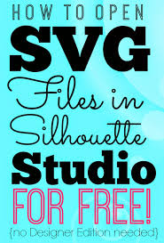 Silhouette Designs For Sale Opening Svgs In Silhouette Studio For Free Without Designer