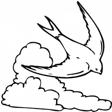 Small Picture Coloring Pages Of Clouds Coloring Home
