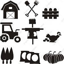 無料ダウンロードのための平たい風農場の庭先イラスト 農地 農地 農業用
