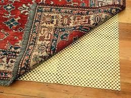rug on rug pad rug pad carpet sticky side