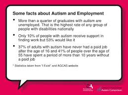 autistic employment ppt autism and employment powerpoint presentation id 5263367