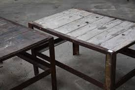 metal industrial furniture. Wood \u0026 Metal Industrial Tables Furniture A