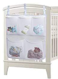 Large Nursery Baby Bed Storage Organizer Toy Diaper Clothes ...