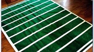 football field rug area rugs large big foot football field rug