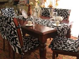 Small Picture Dining Room Chair Covers For Chairs Regarding Household How To