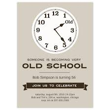 Birthday Party Invitation Old School Birthday Party Invitation Cards