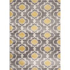 opportunities yellow grey area rug world gallery moroccan trellis contemporary gray 3 ft x