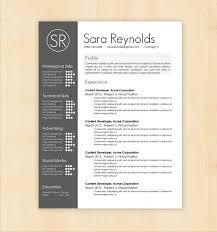 Designer Resume Templates Extraordinary Free Graphic Design Resume Templates Design Resume Template Designer