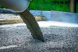 concrete pouring steps and techniques