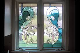 Stainglass window designs Flower Custom Stained Glass Window Installation Karaelvarscom Custom Stained Glass Windows Painted Light Stained Glass