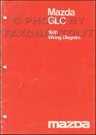 mazda glc wiring diagram mazda wiring diagrams description 1981 mazda glc sedan and hatchback wiring diagram manual original
