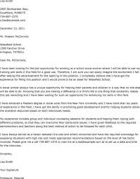 Social Worker Cover Letter Example Free Archives Theshakespeares