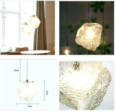ice cube ceiling light lighting full size lights led glass bar restaurant pendant lamp chandelier ice cube