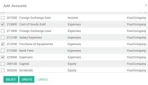 How To Manage A Financial Budget Odoo 11 0 Documentation