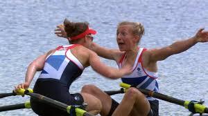 Katherine Copeland & Sophie Hosking win Olympics rowing gold - BBC Sport