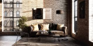 industrial style living room furniture. Living Room Industrial Sofa Home Design Rustic Bed Retro Furniture Exposed Brick Wall Style T