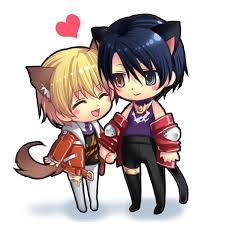 anime chibi cat couples. Simple Anime Search Results On Anime Chibi Cat Couples