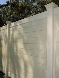 white horizontal wood fence. Horizontal Multi Vertigrain 4 White Wood Fence T