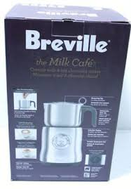 breville the milk cafe creamy milk hot chocolate maker
