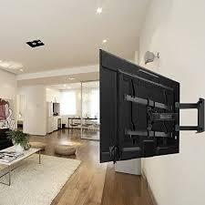 tv wall mount bracket full motion dual