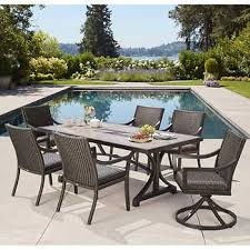 south dakota 7 piece woven dining set