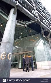 suits office. Business Men In Suits Outside Modern Architectural Office Building Of 60 Cannon St City London EC4 England