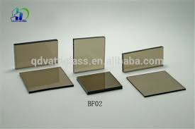 tinted glass sheets
