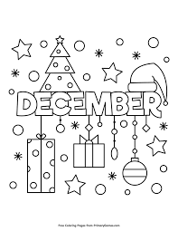 Winter Coloring Pages Ebook December Coloring Pages Fall