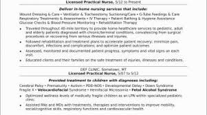Nursing Resume Objective Examples Lpn Resume Sample Gecce