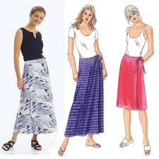 Wrap Skirt Pattern Amazing Kwik Sew Misses' Wrap Skirts Pattern Discount Designer Fabric
