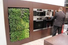 miele, eco walls, ecowalls, kitchen herb garden, green wall, edible greens