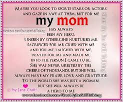 quotes about mom being a hero quotes  pin com
