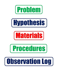 Science Fair Project Labels Printable Science Fair Project Labels