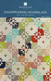 Disappearing Hourglass Quilt Pattern from Missouri Star Quilt Co. &  Adamdwight.com