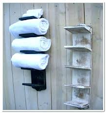 bathroom wall towel shelves for exotic mounted racks bathrooms storage cabinet bathroom wall towel shelves