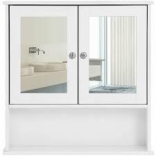 bathroom mirror cabinet storage