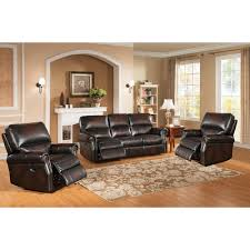 Amax Nevada Piece Leather Living Room Set Reviews Wayfair