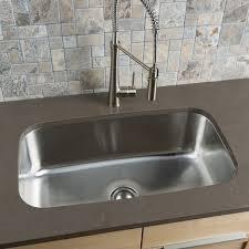 large stainless steel sink. Clark Stainless Steel Extra Large Singlebowl Undermount Kitchen Sink Inside