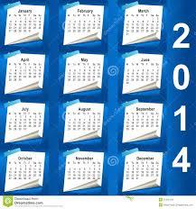 2014 calendar .