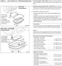 15 Transmission Identification Transmission Pan Gasket