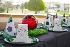 Soccer Ball Centerpiece Decorations