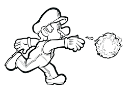 Mario Bros Coloring Pages Super Brothers Coloring Pages Super Galaxy