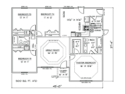 1500 square foot house square foot house plans open concept lovely sq ft 4 bedroom house 1500 square foot