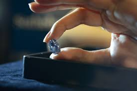 5 things to know about the less de beers millienium blue diamond cnn style